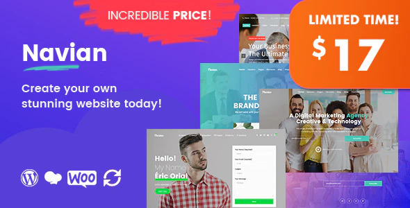 Nulled Navian v1.2.7 - Multi-Purpose Responsive WordPress Theme