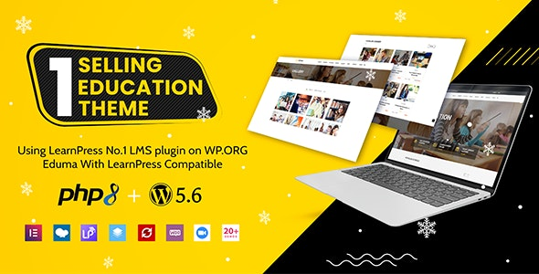 Nulled Eduma v4.3.6 - Education WordPress Theme