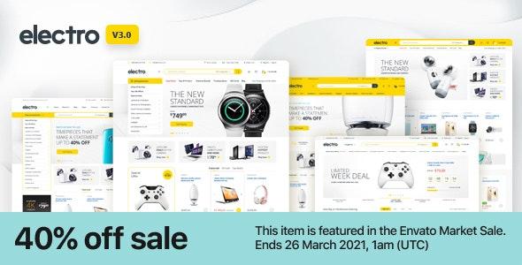 Nulled Electro v3.0.2 - Electronics Store WooCommerce Theme
