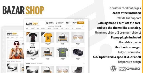 Nulled Bazar Shop v3.20.0 - MultiPurpose e-Commerce WordPress Theme