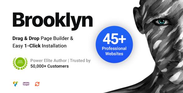 Nulled Brooklyn v4.9.6.6 - Creative Multi-Purpose Responsive WordPress Theme