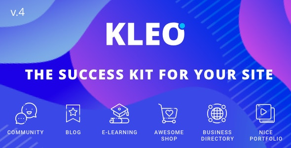 Nulled KLEO v5.0.1 - Next level WordPress Theme